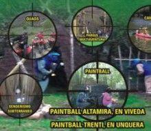 Paintball láser y Multiaventuras. Irconniños.com